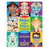 Make a Face Crazy Character Sticker Pad