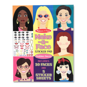 Make a Face Fashion Sticker Pad