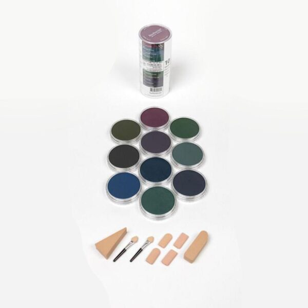 PanPastel Extra Dark Shades - Cool  (10 Colors Set)