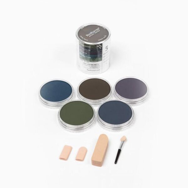 PanPastel Extra Dark Shades - Shadows  (5 Colors Set)