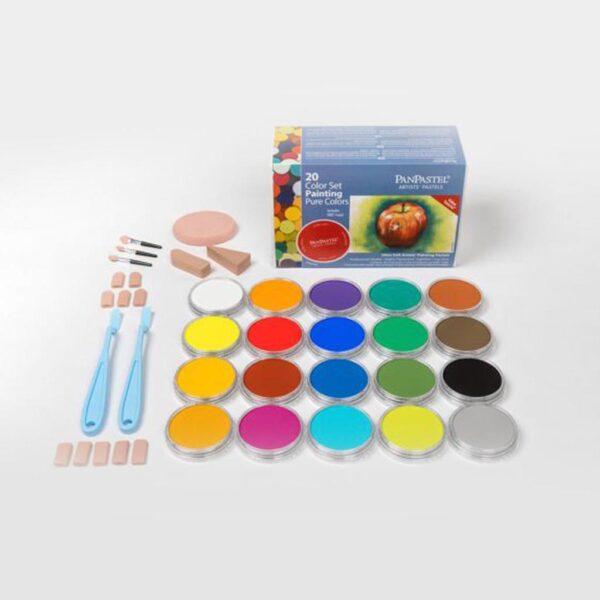 PanPastel Pure Colors/Painting (20 Color Set)