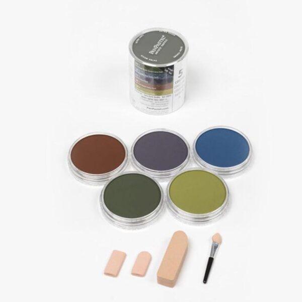 PanPastel Starter - Extra Dark Shades  (5 Colors Set)