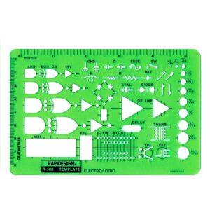 Rapidesign R-308 Template Electro Logic
