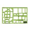 Rapidesign R-714 Architectual Template House Furnishings 1/4 Scale