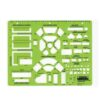 Rapidesign R-718 Architectual Template Living/Dining Room 1/4 Scale