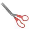 Wescott All Purpose Value Scissor Straight Red 8 in