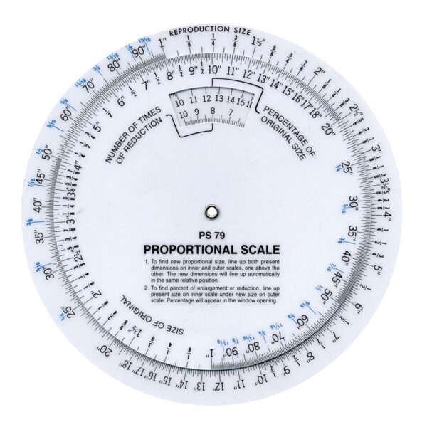 Wescott B-79 Proportional Scale 6 in