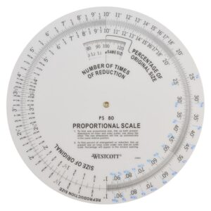 Wescott B-80 Proportional Scale 8 in
