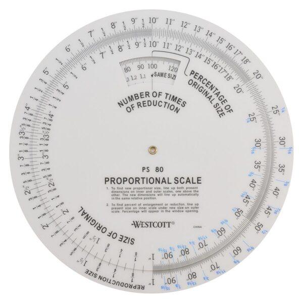 Wescott B-80 Proportional Scale 8 in