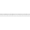 Wescott Inch Metric Ruler 24 in