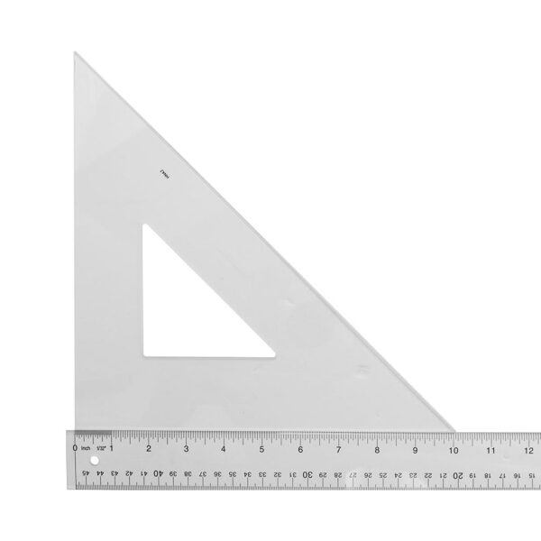 Wescott Triangle 45/90 10 in