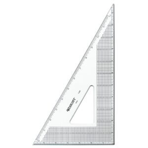 Wescott Gridded Triangle 30/60 12 in