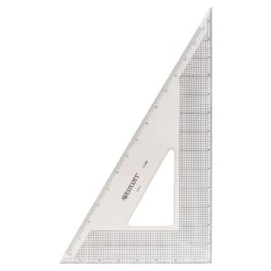 Wescott Gridded Triangle 30/60 14 in