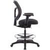 Raynor Apollo Drafting Chair Side