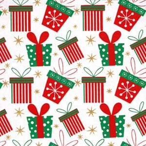 Black Ink Indian Holiday Screenprinted Holiday Presents 22 X 30 In