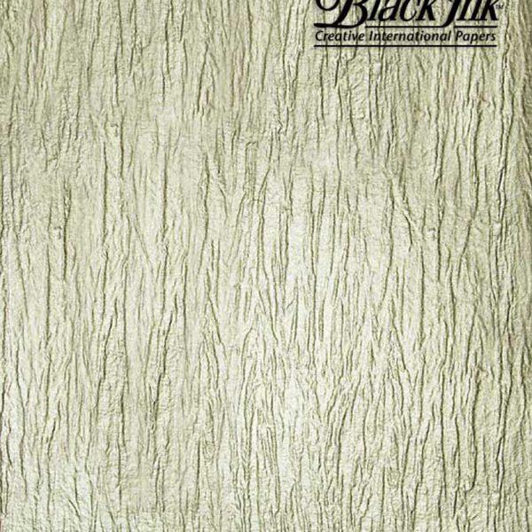 Black Ink Indian Metallic Papers Metallic Bark - Pewter 22 X 30 In
