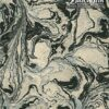 Black Ink Nepalese Marbled - Silver/Black On Natural 20 X 30 In