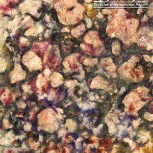 Black Ink Nepalese Oil Paper Oil Paper - Square Strings 19 X 29 In
