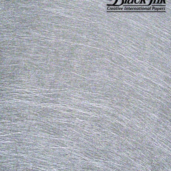Black Ink Philippine Non-Woven Silver Sheen 19.75 X 27.5 In
