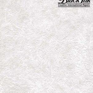 Black Ink Thai Soft Unryu White 23 x 34 in