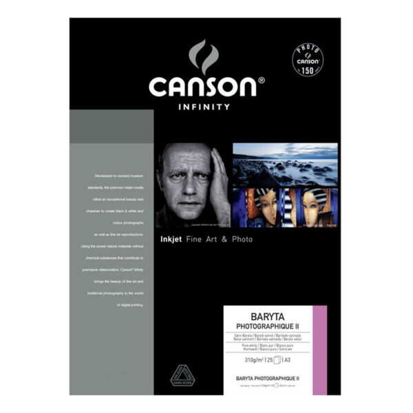 Canson Infinity Baryta Photographique Paper