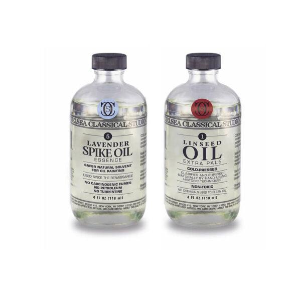 CCS Oil Mediums Sampler Set Linseed/Spike
