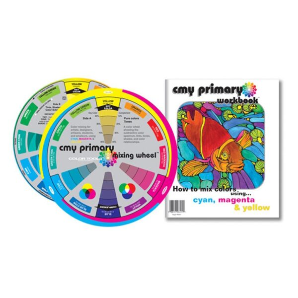CMY Color Wheel and Workbook