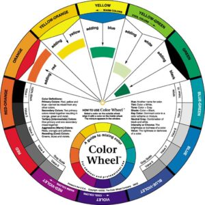 Artist's Color Wheel 9-1/4 in