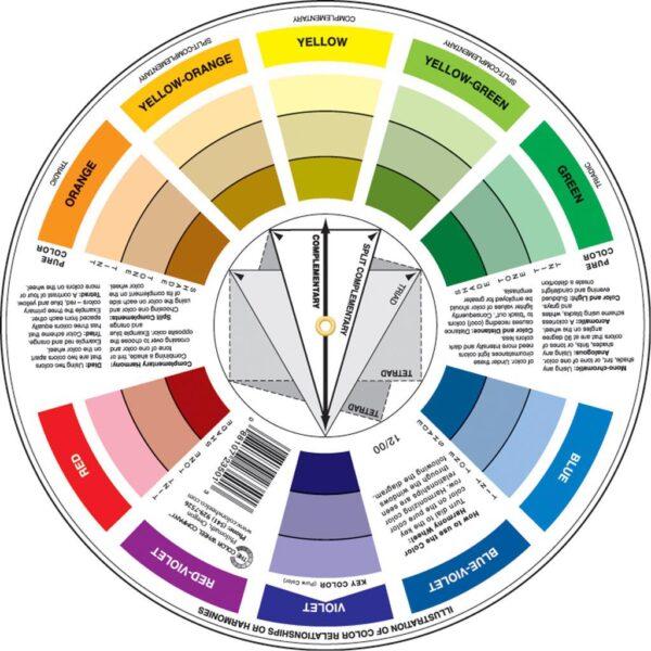 Color Wheel Pocket Back