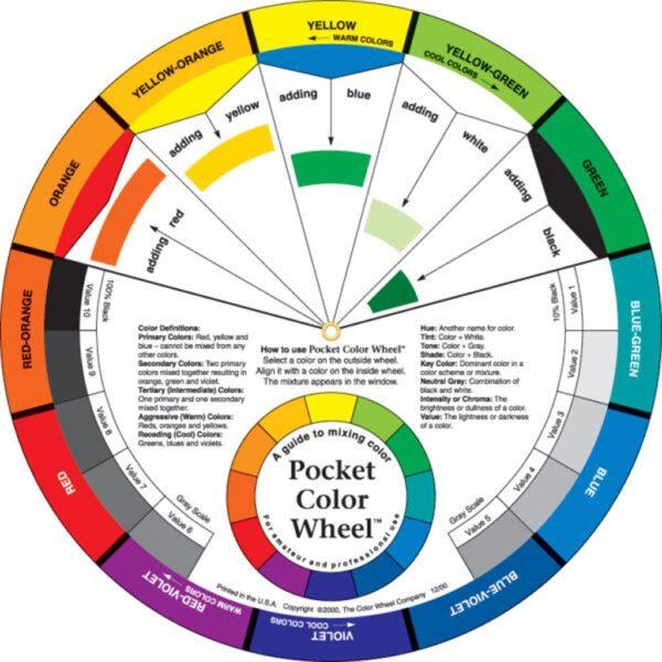 Pocket Color Wheel 5-1/8 in