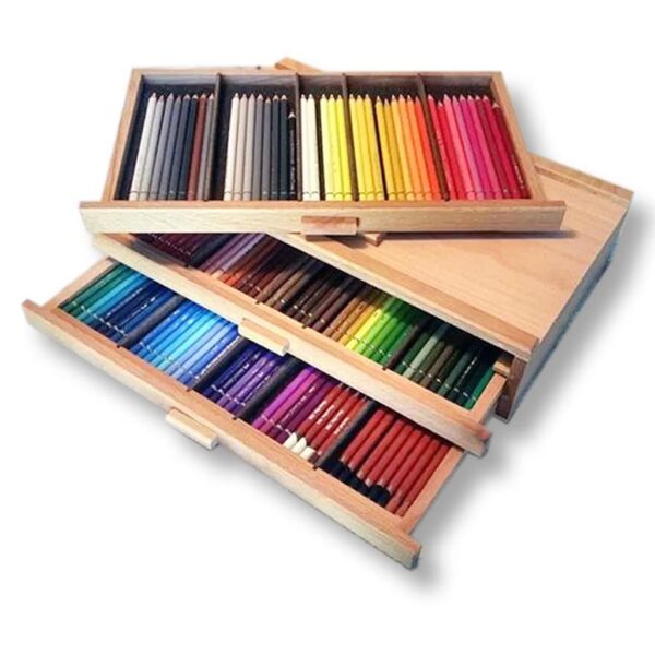 Creative Mark 3 Piece Wood Art Storage Box
