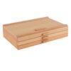 Creative Mark 3 Piece Wood Art Storage Box Front