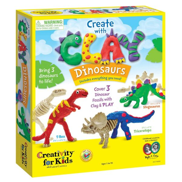 Creativity for Kids Create Dinosaurs Front