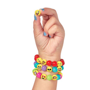 Creativity for Kids Emoji Bracelets Front
