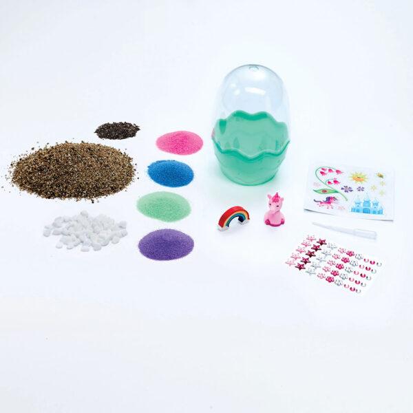 Creativity for Kids Mini Garden Unicorn Content