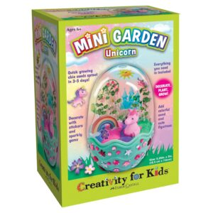 Creativity for Kids Mini Garden Unicorn Front