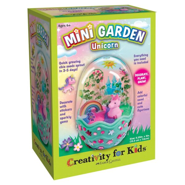Creativity for Kids Mini Garden Unicorn Front