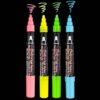 Decocolor Bistro Chalk Marker Primary Set Fluorescent Background