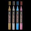 Decocolor Bistro Chalk Marker Primary Set Metallic Background