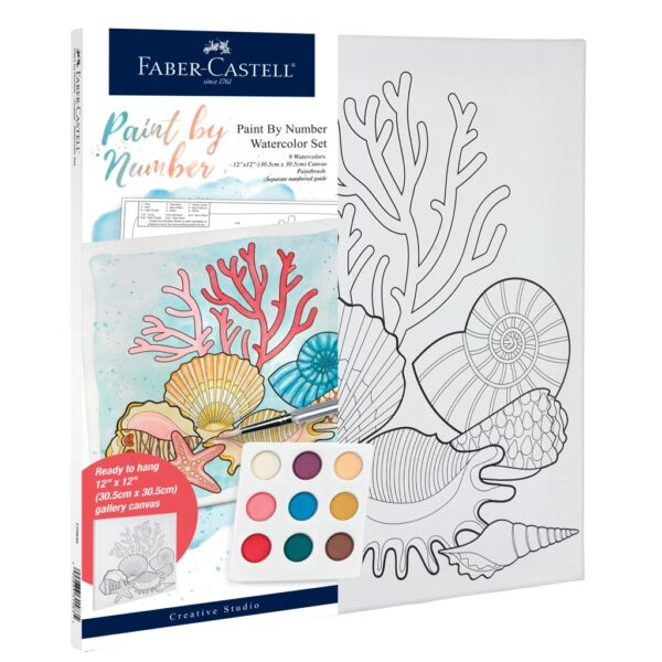 Faber Castell Paint by Number Coastal