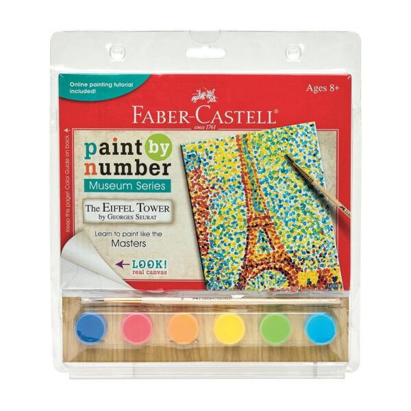 Faber Castell Paint by Number Eiffer Tower