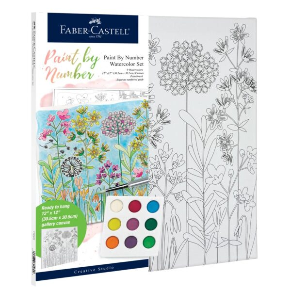Faber Castell Paint by Number Farmhouse