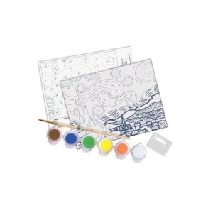 Faber Castell Paint by Number Starry Night Content