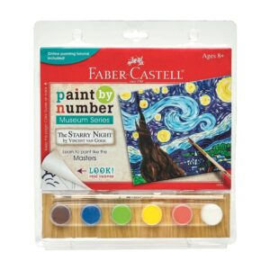 Faber Castell Paint by Number Starry Night