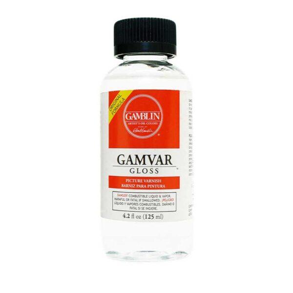 Gamblin Gamvar Varnish Gloss 473 ml (16 OZ))