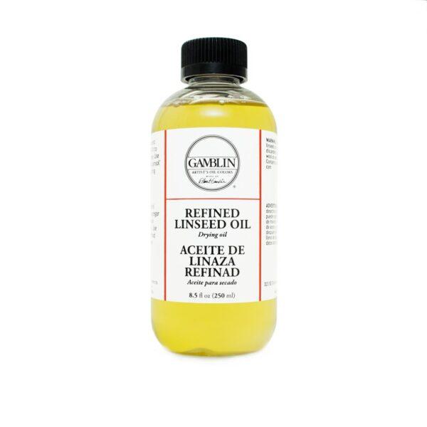 Gamblin Linseed Oil Refined (Low Acid)