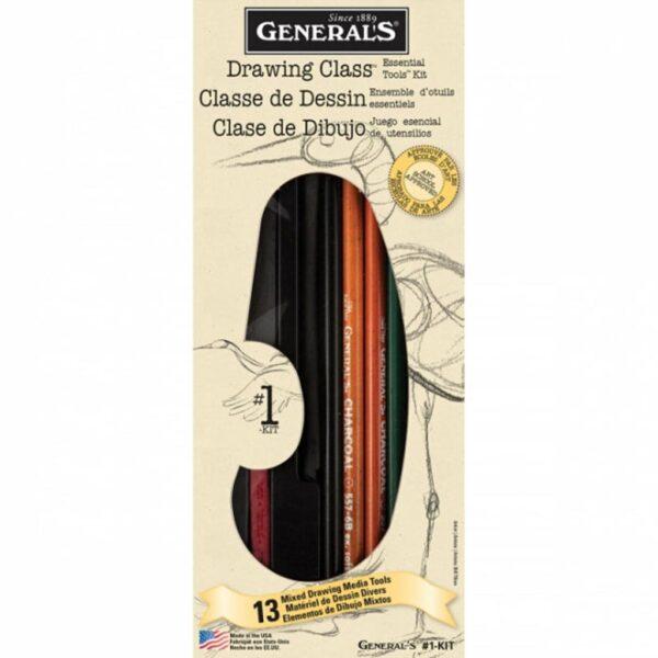 Generals Drawing Class Set No. 1