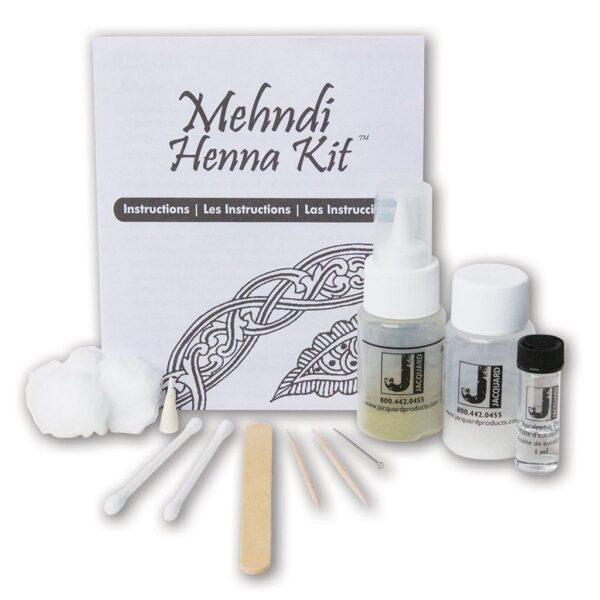Jacquard Mendhi Henna Kit Contents