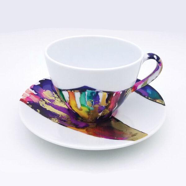 Jacquard Pinata Exicter Tea Cup