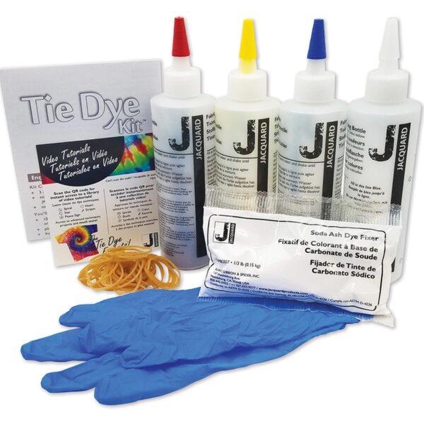 Jacquard Tie Dye Kit Deluxe Content